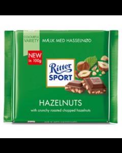 Ritter Sport - Mælk Med Knasende Hasselnød