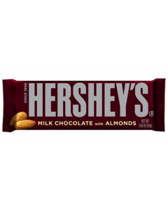 Hershey's - Milk Chokolate Bar With Almonds