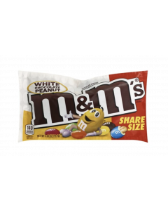M&M´s - White Chocolate & Peanut - Sharing Size