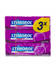 Stimorol Wild Cherry 3-Pack
