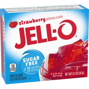 Jell-O - Jordbær - Sukkerfri