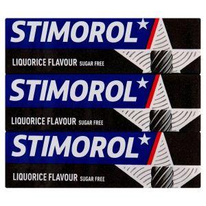 Stimorol Real Liquorice 3-Pack