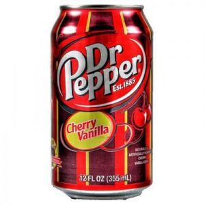 Dr. Pepper - Vanilje/Cherry