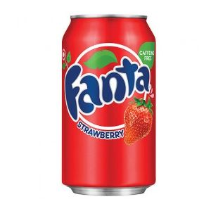 Fanta - Strawberry
