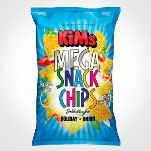 Kims - Mega Snack Chips - Holiday & Onion