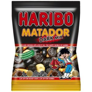 Haribo - Matador Mix Dark STOR