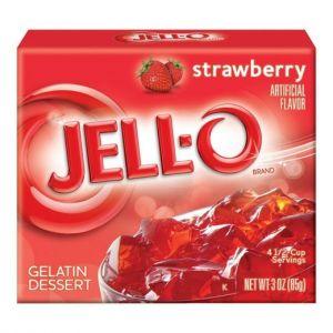 Jell O - Jordbær